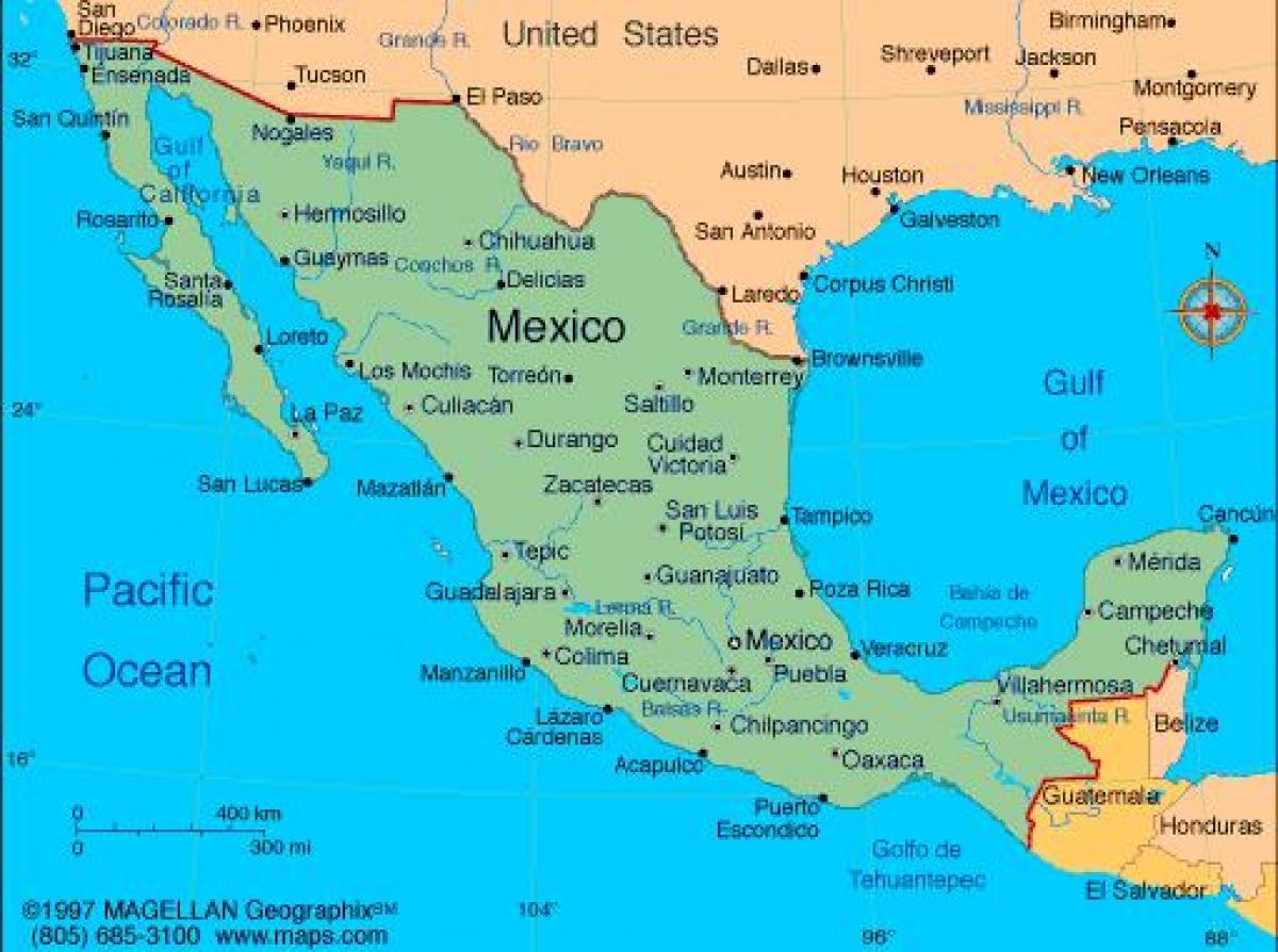 kart mexico Kart Mexico resorts   Kart av alpinanlegg i Mexico (Sentral  kart mexico